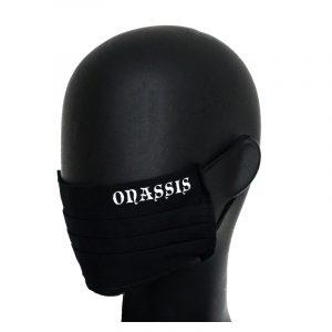 Onassis mondkapje zwart